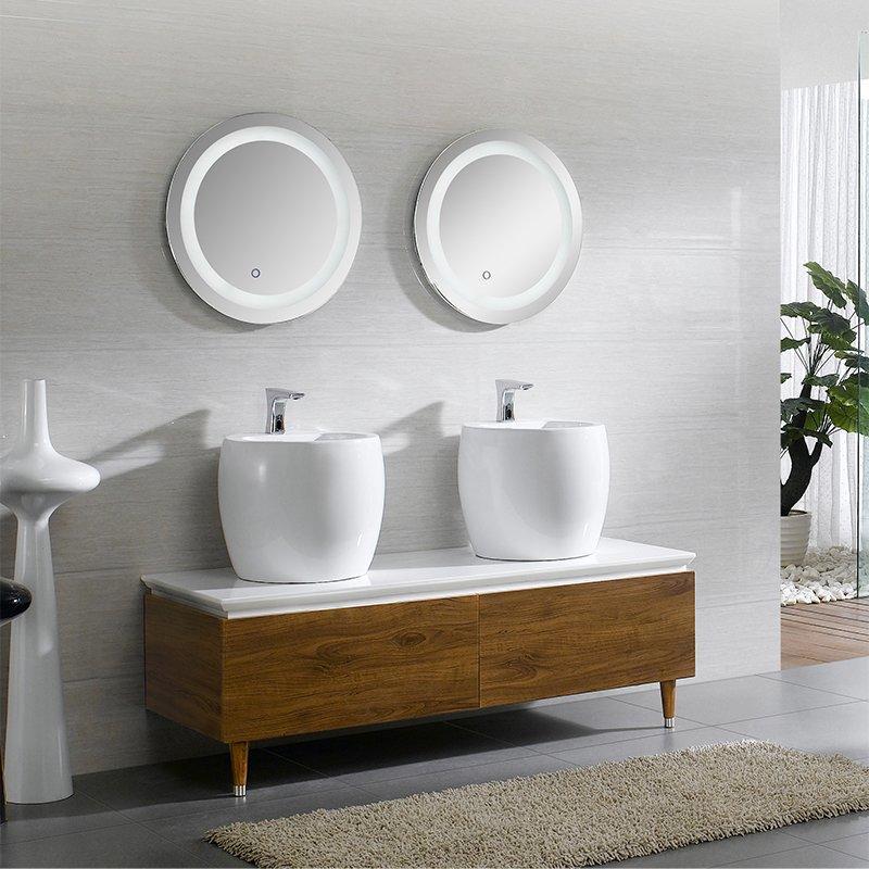 QUEENSWOOD德尔系列简欧现代落地浴室柜