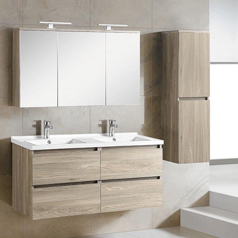 QUEENSWOOD巴黎春天系列简约现代浴室柜