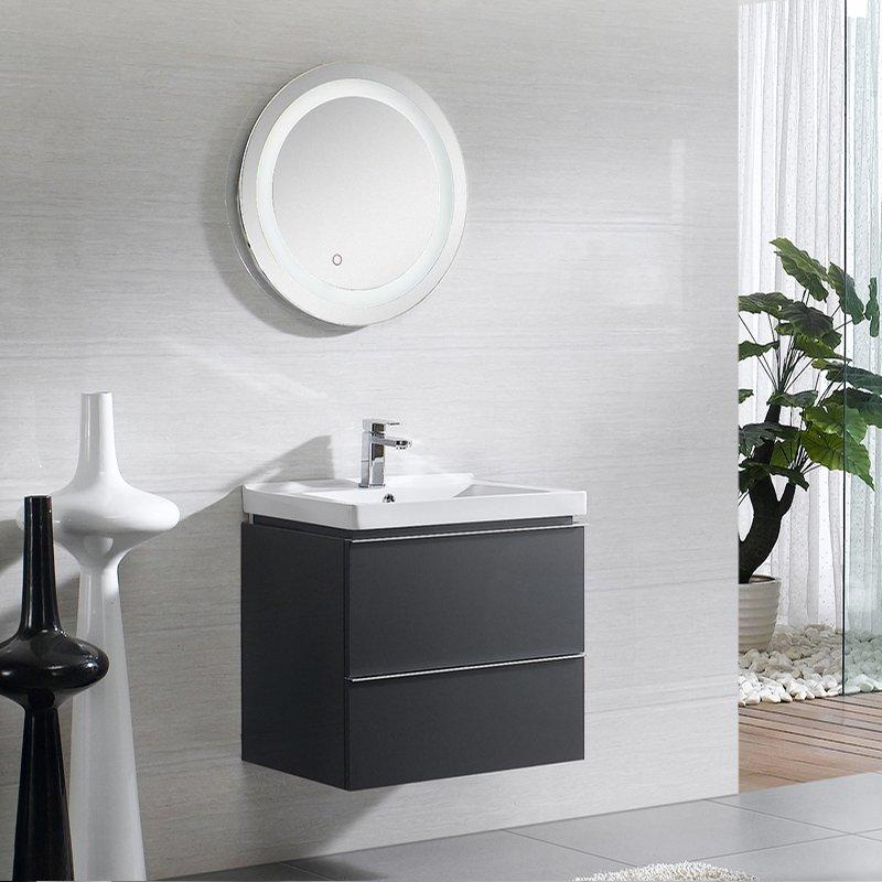QUEENSWOOD亮光系列简约现代浴室柜