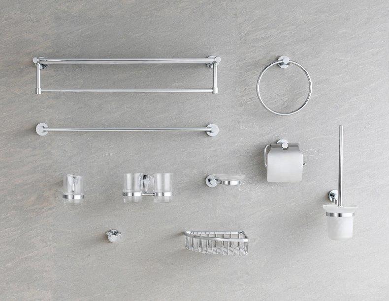 QUEENSWOOD昆斯伍德 卫浴间铜电镀卫浴五金挂件-M系列
