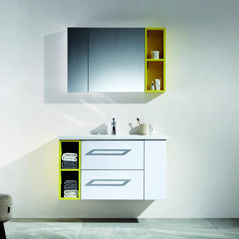 QUEENSWOOD风尚系列简约现代浴室柜