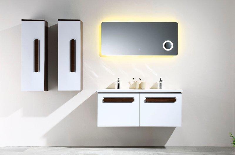 昆斯伍德岁末力作 -- 诺瓦系列 带隐抽挂墙浴室柜 -- 专利产品