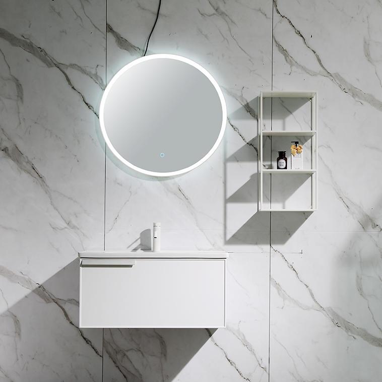 QUEENSWOOD杜拉系列挂墙浴室柜 -- 经典高光白